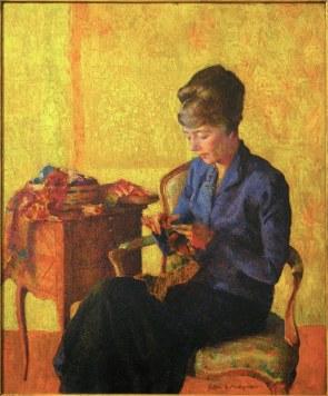 Portrait of Helen Greene, by Arthur Franklyn Musgrave