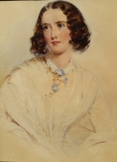 British Watercolor Portrait, by Unidentified