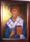 St. Spyridon of Trimythun, by Anthony Gunin